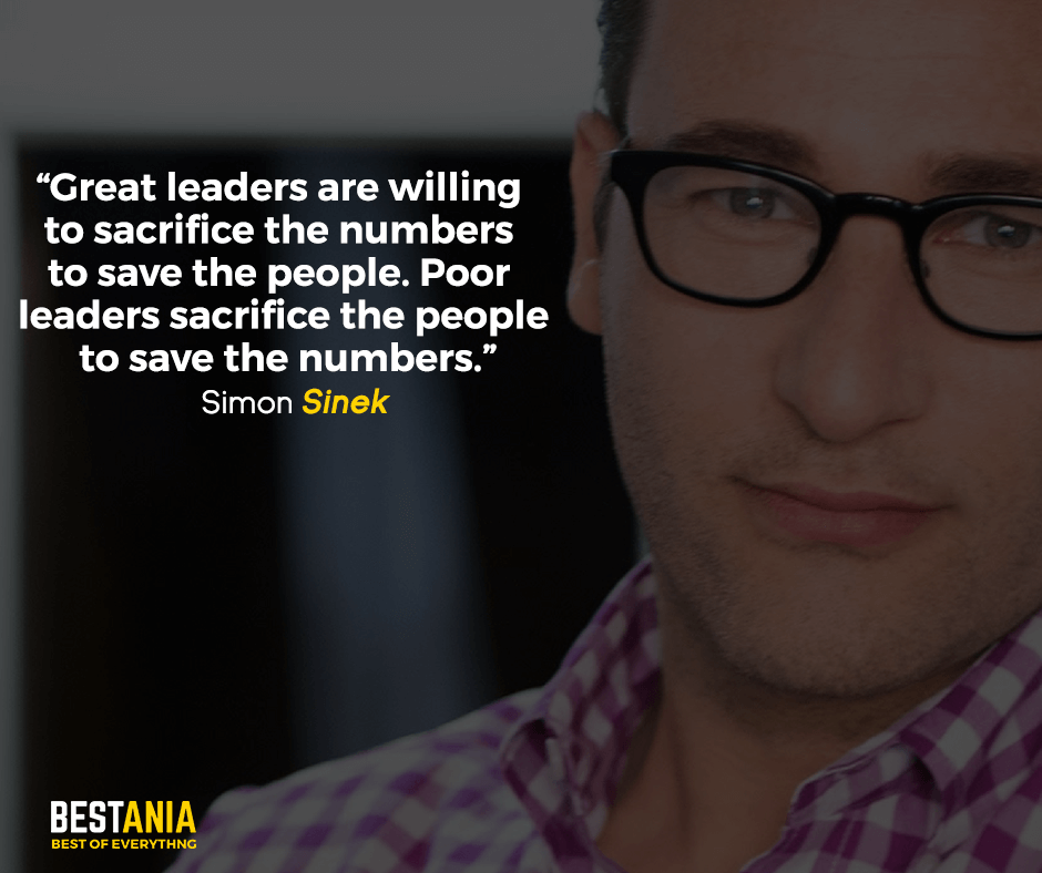 Best Simon Sinek Quotes About Leadership