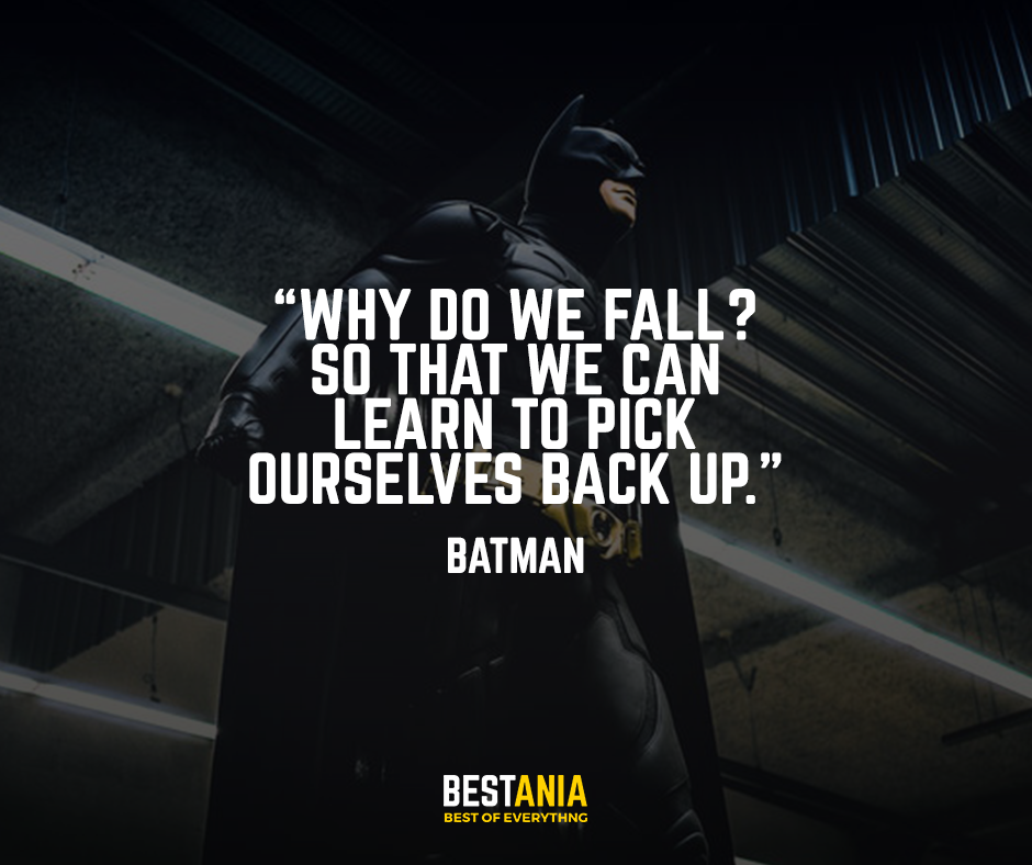Best Batman Quotes - 13 Killer Dark knight Sayings That Will Blow