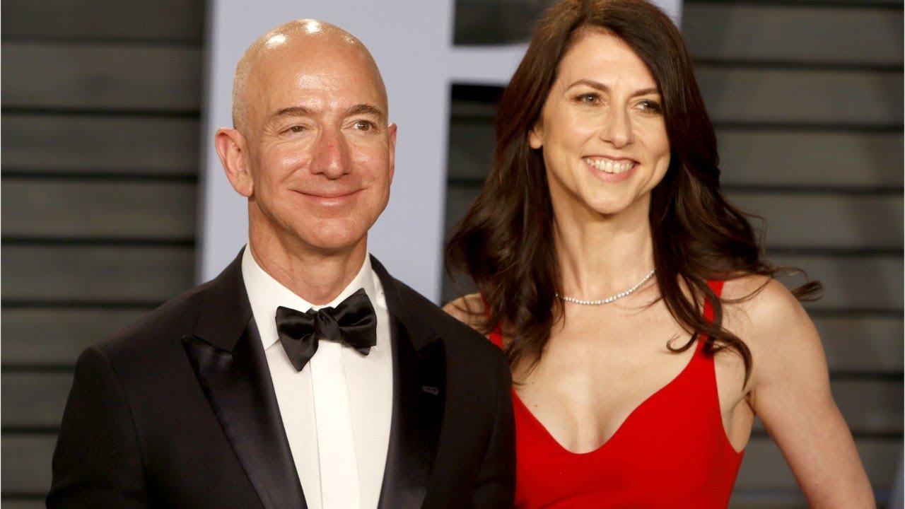 Image result for Jeffrey Preston Bezos with MacKenzie