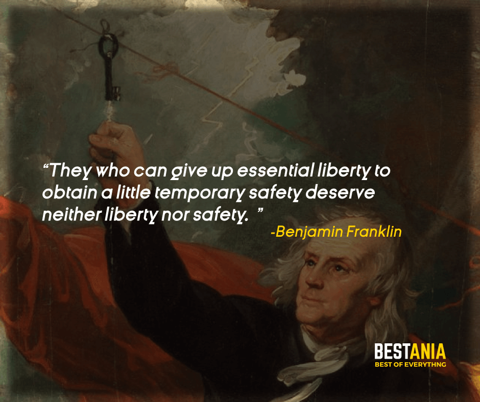 """""""THEY WHO CAN GIVE UP ESSENTIAL LIBERTY TO OBTAIN A LITTLE TEMPORARY SAFETY DESERVE NEITHER LIBERTY NOR SAFETY."""" BENJAMIN FRANKLIN"""